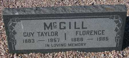 MCGILL, FLORENCE - Maricopa County, Arizona | FLORENCE MCGILL - Arizona Gravestone Photos