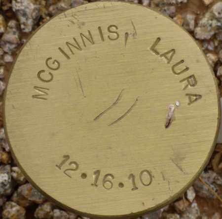 MCGINNIS, LAURA - Maricopa County, Arizona | LAURA MCGINNIS - Arizona Gravestone Photos