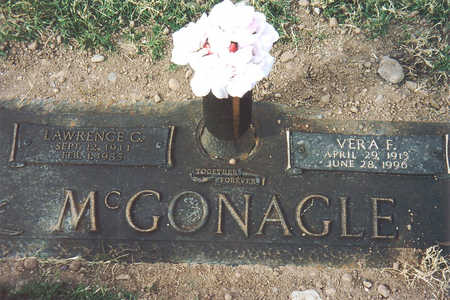 MCGONAGLE, LAWRENCE - Maricopa County, Arizona | LAWRENCE MCGONAGLE - Arizona Gravestone Photos