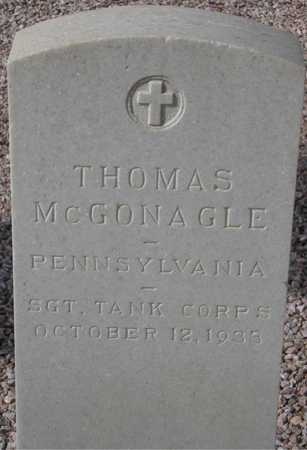 MCGONAGLE, THOMAS - Maricopa County, Arizona | THOMAS MCGONAGLE - Arizona Gravestone Photos