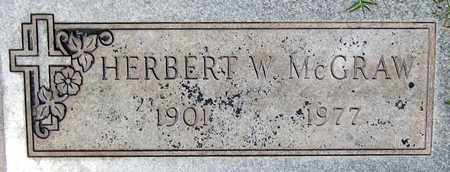 MCGRAW, HERBERT W. - Maricopa County, Arizona | HERBERT W. MCGRAW - Arizona Gravestone Photos