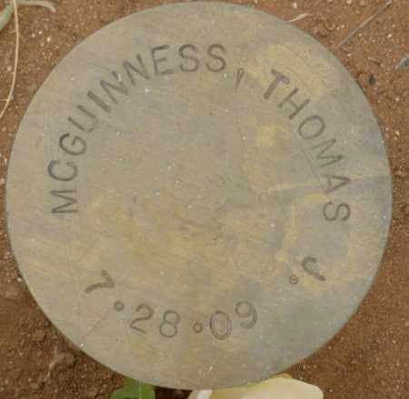 MCGUINNESS, THOMAS J. - Maricopa County, Arizona | THOMAS J. MCGUINNESS - Arizona Gravestone Photos