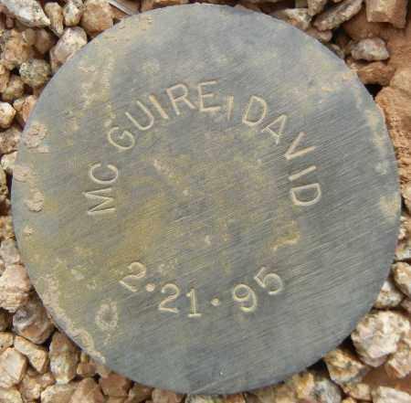 MCGUIRE, DAVID - Maricopa County, Arizona | DAVID MCGUIRE - Arizona Gravestone Photos