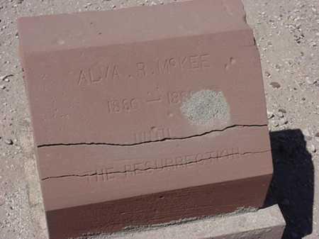 MCKEE, ALVA R - Maricopa County, Arizona | ALVA R MCKEE - Arizona Gravestone Photos