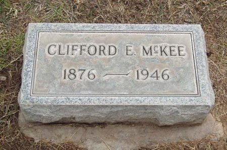 MCKEE, CLIFFORD E. - Maricopa County, Arizona | CLIFFORD E. MCKEE - Arizona Gravestone Photos