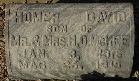 MCKEE, HOMER DAVID - Maricopa County, Arizona   HOMER DAVID MCKEE - Arizona Gravestone Photos