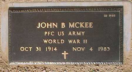 MCKEE, JOHN B. - Maricopa County, Arizona | JOHN B. MCKEE - Arizona Gravestone Photos