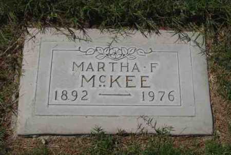 HANCOCK MCKEE, MARTHA FLORENCE - Maricopa County, Arizona   MARTHA FLORENCE HANCOCK MCKEE - Arizona Gravestone Photos