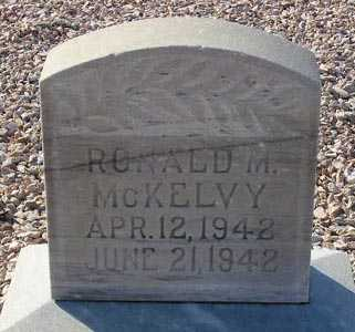 MCKELVY, RONALD M. - Maricopa County, Arizona | RONALD M. MCKELVY - Arizona Gravestone Photos