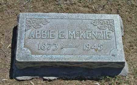 MCKENZIE, ABBIE E - Maricopa County, Arizona | ABBIE E MCKENZIE - Arizona Gravestone Photos