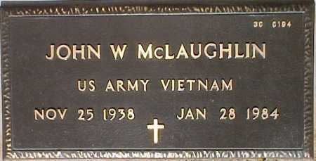 MCLAUGHLIN, JOHN W. - Maricopa County, Arizona | JOHN W. MCLAUGHLIN - Arizona Gravestone Photos