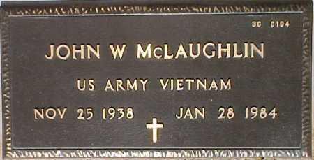 MCLAUGHLIN, JOHN W. - Maricopa County, Arizona | JOHN W. MCLAUGHLIN - Arizona Gravestone Photos
