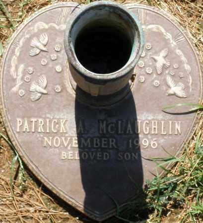 MCLAUGHLIN, PATRICK A. - Maricopa County, Arizona | PATRICK A. MCLAUGHLIN - Arizona Gravestone Photos