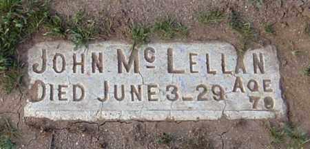 MCLELLAN, JOHN - Maricopa County, Arizona   JOHN MCLELLAN - Arizona Gravestone Photos