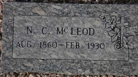 MCLEOD, N. C. - Maricopa County, Arizona | N. C. MCLEOD - Arizona Gravestone Photos