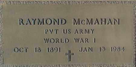 MCMAHAN, RAYMOND - Maricopa County, Arizona   RAYMOND MCMAHAN - Arizona Gravestone Photos