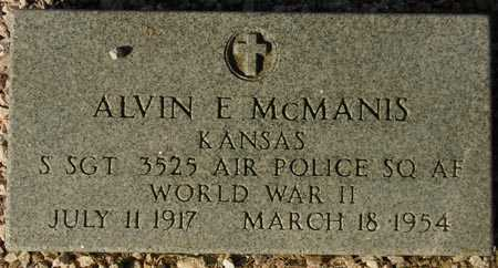MCMANIS, ALVIN E. - Maricopa County, Arizona | ALVIN E. MCMANIS - Arizona Gravestone Photos