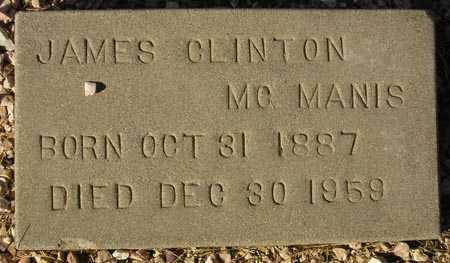 MCMANIS, JAMES CLINTON - Maricopa County, Arizona | JAMES CLINTON MCMANIS - Arizona Gravestone Photos