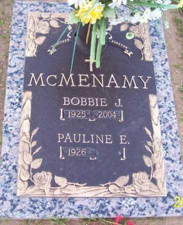 MCMENAMY, PAULINE E. - Maricopa County, Arizona | PAULINE E. MCMENAMY - Arizona Gravestone Photos