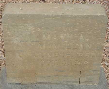 MCMILLAN, MARY A. - Maricopa County, Arizona | MARY A. MCMILLAN - Arizona Gravestone Photos