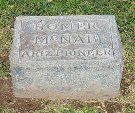 MCNAB, HOMER - Maricopa County, Arizona | HOMER MCNAB - Arizona Gravestone Photos