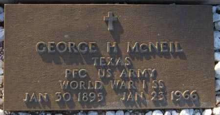 MCNEIL, GEORGE H. - Maricopa County, Arizona | GEORGE H. MCNEIL - Arizona Gravestone Photos