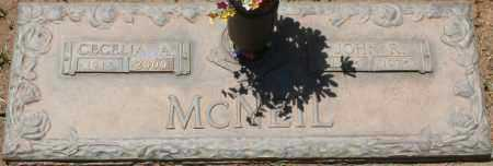 MCNEIL, CECELIA A. - Maricopa County, Arizona | CECELIA A. MCNEIL - Arizona Gravestone Photos