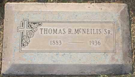 MCNEILIS, THOMAS R, SR - Maricopa County, Arizona   THOMAS R, SR MCNEILIS - Arizona Gravestone Photos