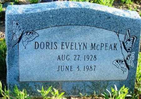 MCPEAK, DORIS EVELYN - Maricopa County, Arizona | DORIS EVELYN MCPEAK - Arizona Gravestone Photos