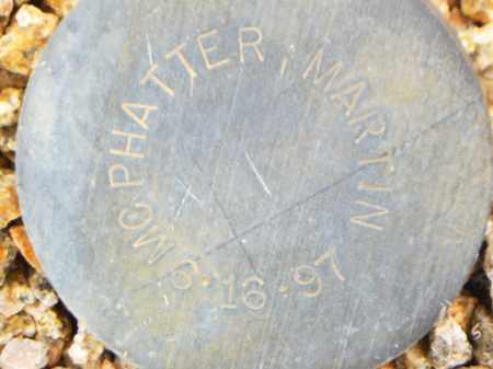 MCPHATTER, MARTIN - Maricopa County, Arizona   MARTIN MCPHATTER - Arizona Gravestone Photos