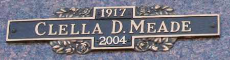 MEADE, CLELLA - Maricopa County, Arizona | CLELLA MEADE - Arizona Gravestone Photos
