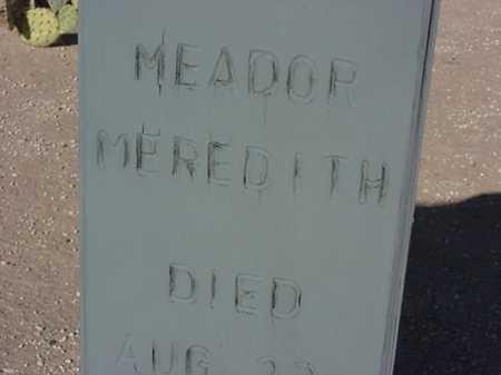 MEADOR, MEREDITH - Maricopa County, Arizona   MEREDITH MEADOR - Arizona Gravestone Photos
