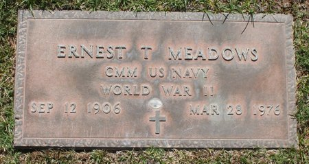 MEADOWS, ERNEST T - Maricopa County, Arizona | ERNEST T MEADOWS - Arizona Gravestone Photos