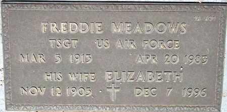 MEADOWS, FREDDIE - Maricopa County, Arizona | FREDDIE MEADOWS - Arizona Gravestone Photos