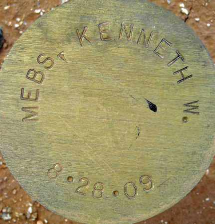 MEBS, KENNETH W. - Maricopa County, Arizona | KENNETH W. MEBS - Arizona Gravestone Photos