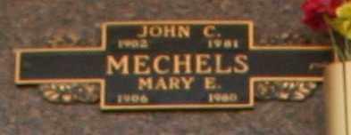 MECHELS, MARY E - Maricopa County, Arizona | MARY E MECHELS - Arizona Gravestone Photos