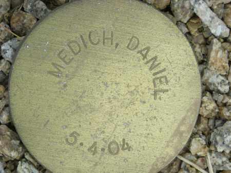 MEDICH, DANIEL - Maricopa County, Arizona   DANIEL MEDICH - Arizona Gravestone Photos