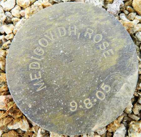 MEDIGOVIDH, ROSE - Maricopa County, Arizona | ROSE MEDIGOVIDH - Arizona Gravestone Photos