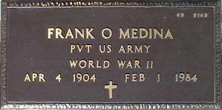 MEDINA, FRANK O. - Maricopa County, Arizona | FRANK O. MEDINA - Arizona Gravestone Photos