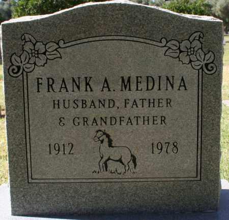 MEDINA, FRANK A - Maricopa County, Arizona   FRANK A MEDINA - Arizona Gravestone Photos