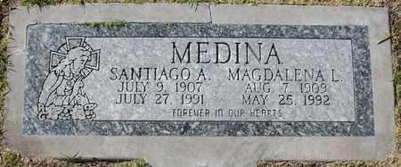 MEDINA, MAGDALENA L - Maricopa County, Arizona | MAGDALENA L MEDINA - Arizona Gravestone Photos
