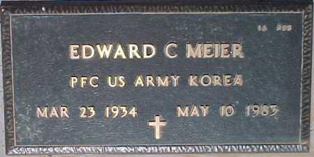 MEIER, EDWARD C. - Maricopa County, Arizona | EDWARD C. MEIER - Arizona Gravestone Photos