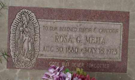 MEJIA, ROSA G. - Maricopa County, Arizona   ROSA G. MEJIA - Arizona Gravestone Photos