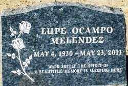 MELENDEZ, LUPE - Maricopa County, Arizona   LUPE MELENDEZ - Arizona Gravestone Photos