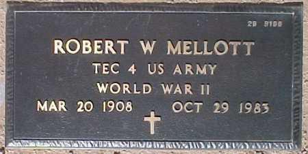 MELLOTT, ROBERT W. - Maricopa County, Arizona | ROBERT W. MELLOTT - Arizona Gravestone Photos