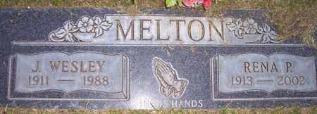 MELTON, J. WESLEY - Maricopa County, Arizona | J. WESLEY MELTON - Arizona Gravestone Photos