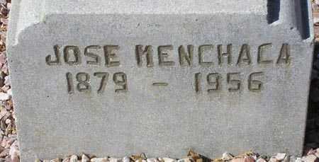 MENCHACA, JOSE - Maricopa County, Arizona   JOSE MENCHACA - Arizona Gravestone Photos