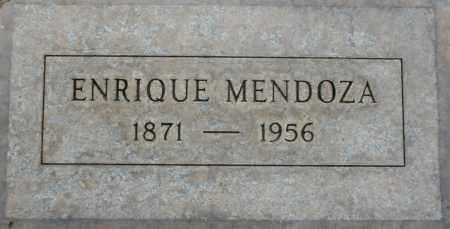 MENDOZA, ENRIQUE - Maricopa County, Arizona | ENRIQUE MENDOZA - Arizona Gravestone Photos