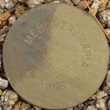 MENDOZA, MARIA - Maricopa County, Arizona | MARIA MENDOZA - Arizona Gravestone Photos
