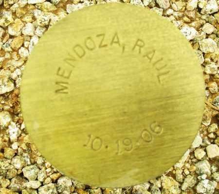MENDOZA, RAUL - Maricopa County, Arizona   RAUL MENDOZA - Arizona Gravestone Photos